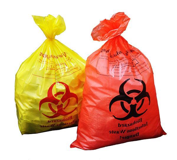 bolsas y envases para residuos biopeligrosos