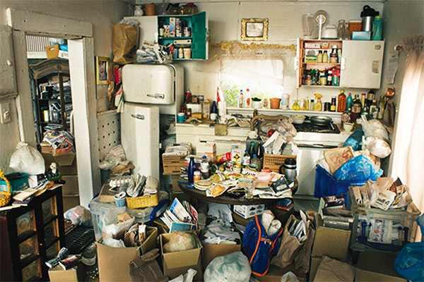 problemas con el acaparamiento en casas