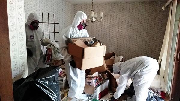 profesionales de las limpiezas traumáticas