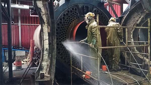 limpieza de calderas industriales