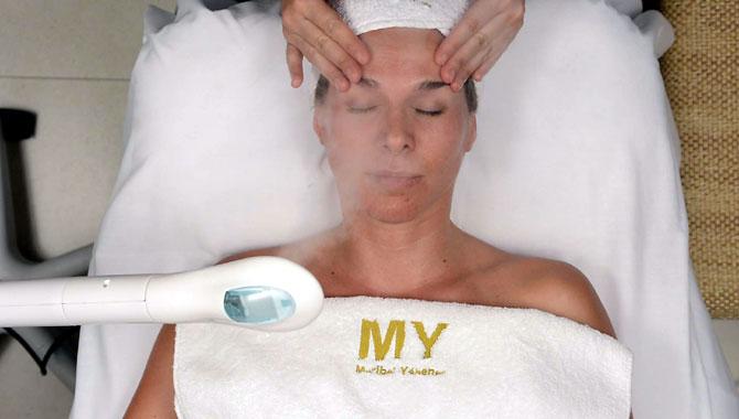 limpieza con ozono facial