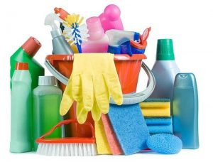 Productos que utiliza una empresa de limpieza